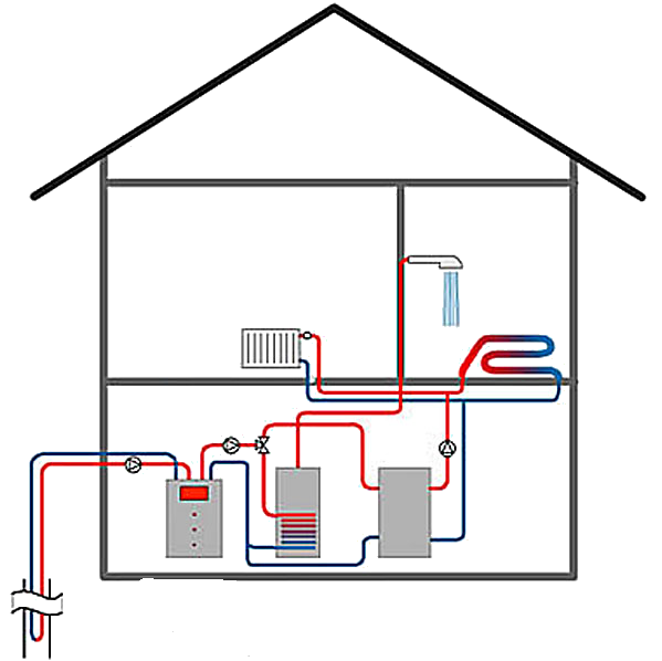 циркуляционный насос в настенных котлах отключается ли когда нагревает теплоноситель до нужной темпе