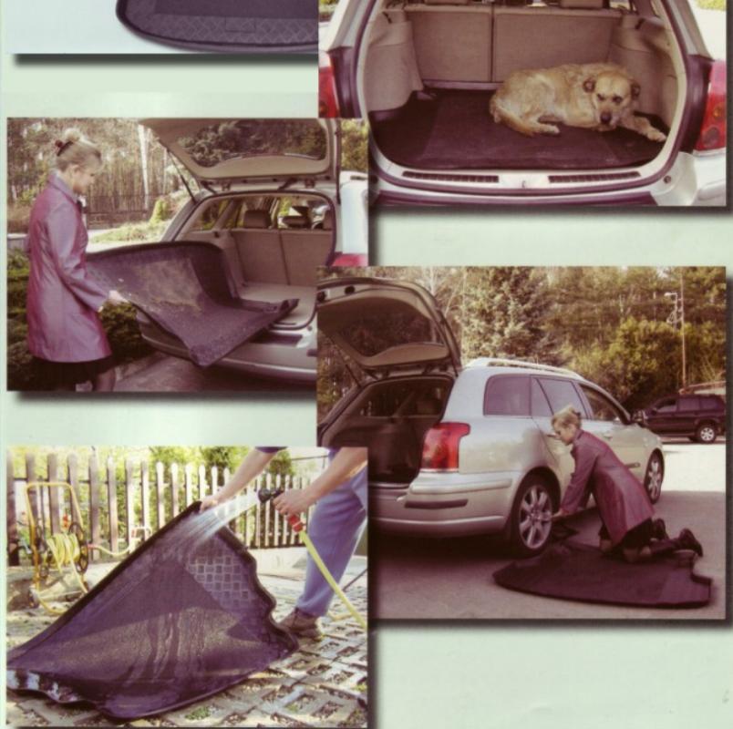 Купить Коврик в багажники из поливинилхлорида ПВХ