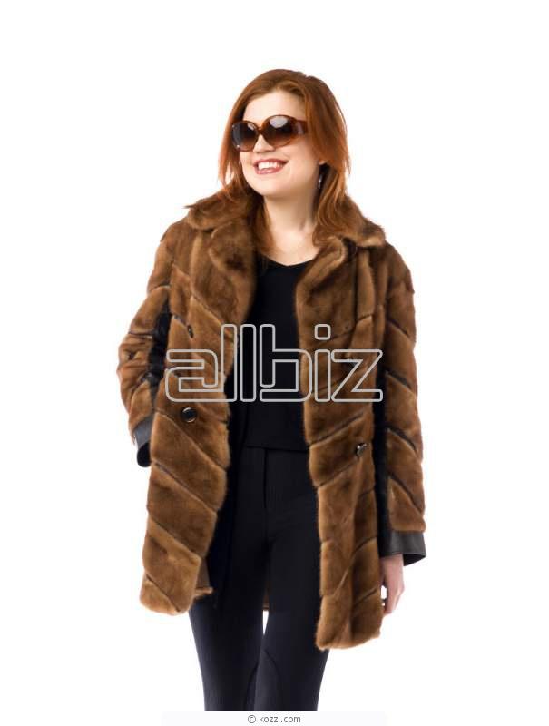 Купить Одежда верхняя из натурального меха