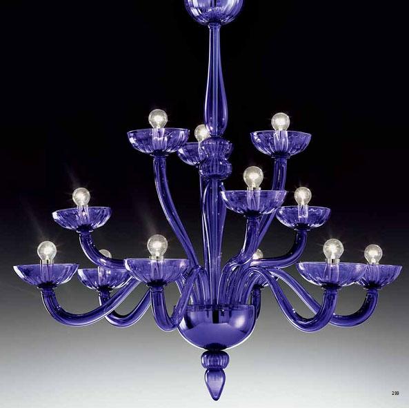 Купить Люстры из Муранского стекла, de Majo Италия