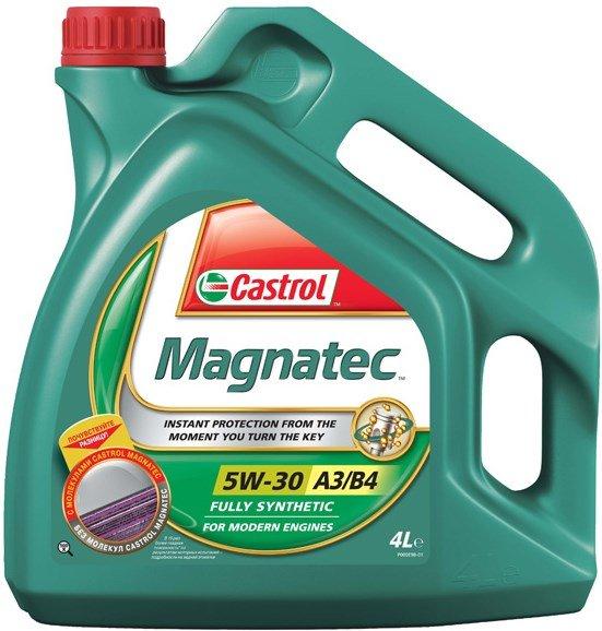 Купить CASTROL СИНТЕТИЧЕСКОЕ МАСЛО MAGNATEC 5W30 A3/B4 4L