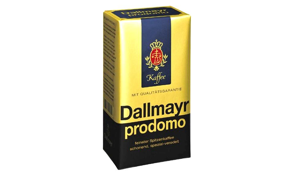 Кофе Dallmayr Prodomo 100% Арабика 500 г молотый (вакуум)