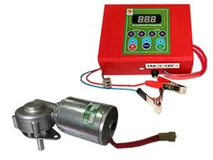 Купить Привод медогонки электрический, горизонтальный напряжение 12 В «Евро»(алюминиевый корпус редуктора)