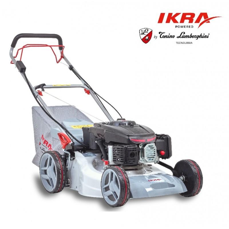 Купить Бензиновая газонокосилка IKRA MOGATEC IBRM 1448E TL с электростартером