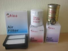 Filters for automobiles