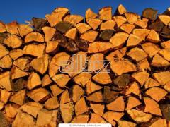 Дрова из различных пород деревьев