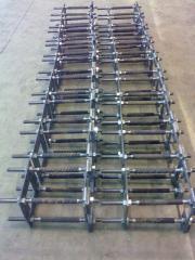 Строительные металлоконструкции: рамы, колонны,