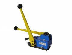 Натяжное устройство для обвязки стальными лентами