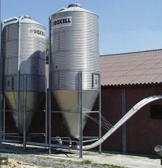 Бункеры для корма