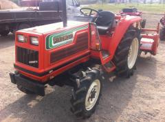 Мини трактор с фрезой Hinomoto N249