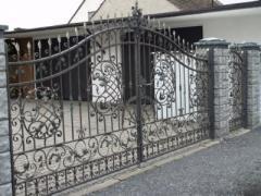 Ворота из метала