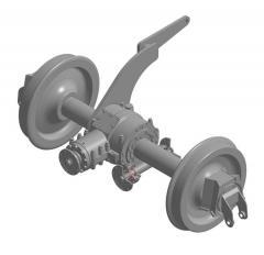 Пары колесные ВПР-1200