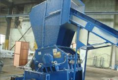 Shredders for processing of polymers