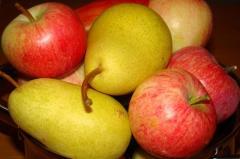 Яблоки,  груши Польша