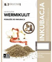 Vermiculite для инкубации яиц рептилий, амфибий, ракообразных