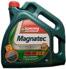 Масло моторное CASTROL MAGNATEC 5W40 C3 4L