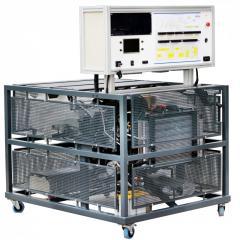 Демонстрационная модель гибридной системы управления силовой установкой (ДВС/Электродвигатель)