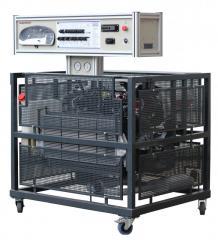 Демонстрационная модель действующего дизельного двигателя  с системой управления cr edc-15