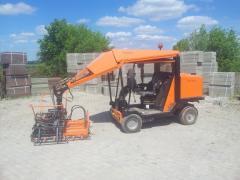 Машина для уклдки тротуарной плитки Optimas Torro H88,