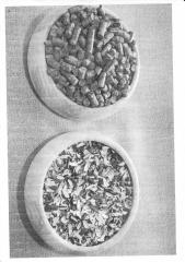 Пиллеты из лузги подсолнечника