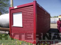 Modular building fast-erected