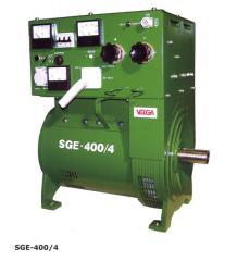 Однопостовые сварочные генераторы SGE для ручной дуговой электросварки