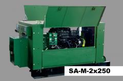 Многопостовые сварочные агрегаты тип SA-M, SAE-M, для ручной дуговой сварки покрытыми электродами постоянным током (ММА)