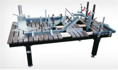 Accessories for welding and assembly tables