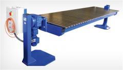 Equipment for welding dopressive