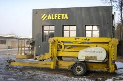 Auto-hydraulics hoists