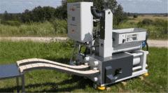 Бикетировочный гидравлический пресс BP420A для производства биотоплива