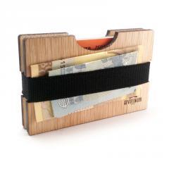 Oak Handmade Wood Wallet
