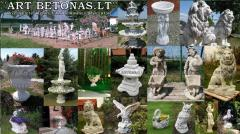 Landscaping sculptures