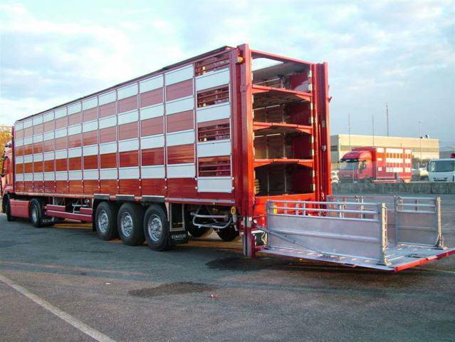 Заказать Перевозка сельскохозяйственных животных