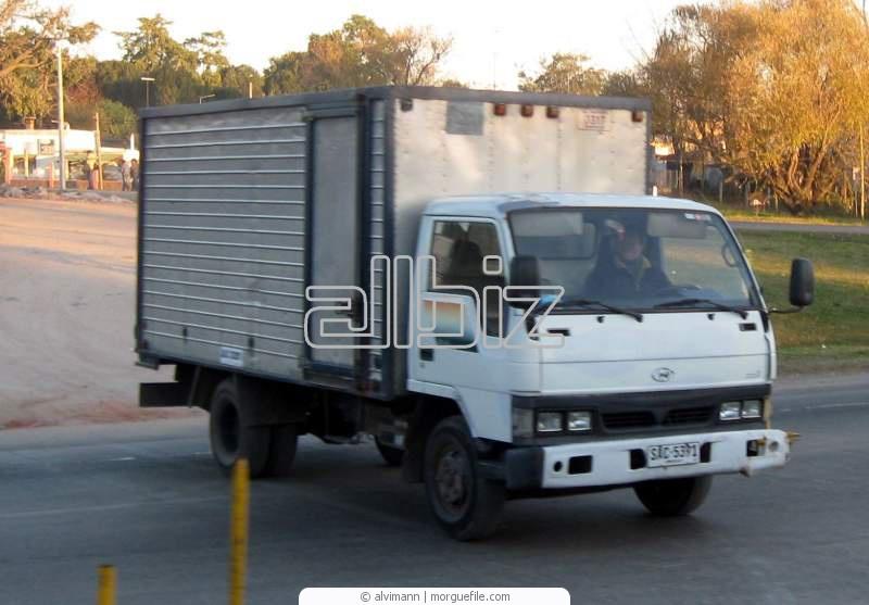 Заказать Автомобильные перевозки, классифицированные по видам грузов