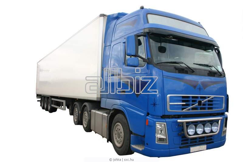 Заказать Транспортировка грузов автотранспортом