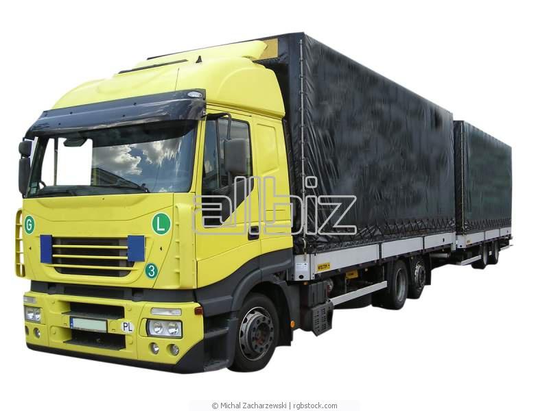 Заказать Перевозки грузовые