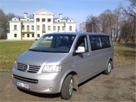 Заказать Аренда микроавтобуса VW CARAVELLE