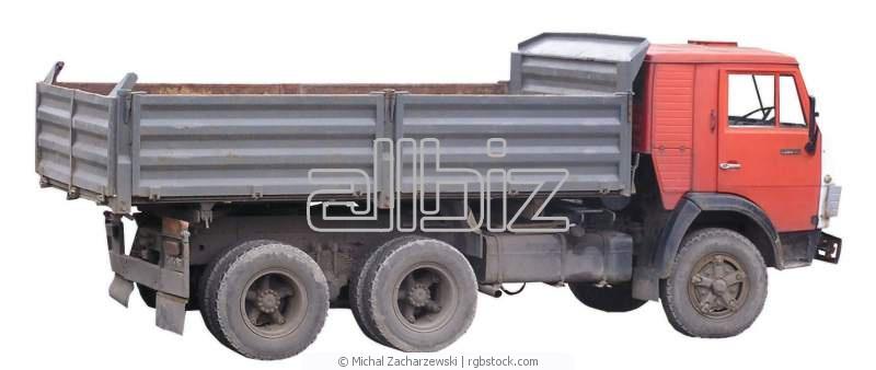 Заказать Перевозки автомобильные бестарных и насыпных грузов