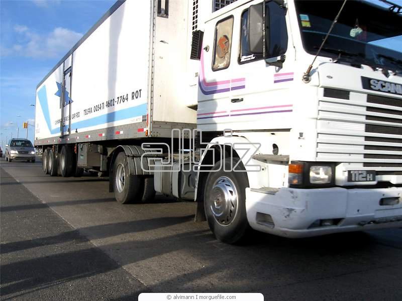 Заказать Перевозки грузов автотранспортом