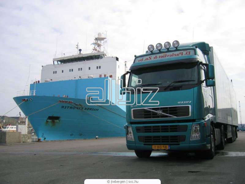 Заказать Международные грузовые мультимодальные грузоперевозки