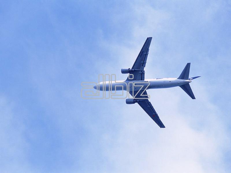 Заказать Перевозки грузов воздушным транспортом