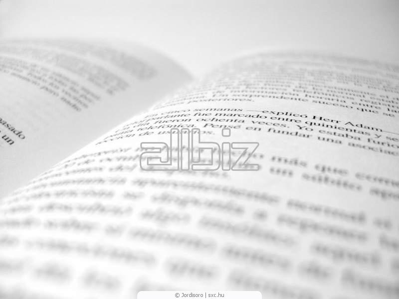 Заказать Письменный перевод текстов различной тематик