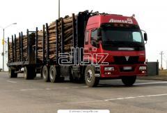 Перевозки автомобильные, классифицированные по видам грузов