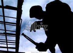 Работы строительные