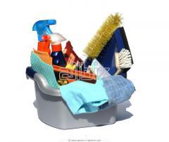 Услуги по уборке зданий