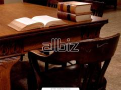 Услуги по юридической информации