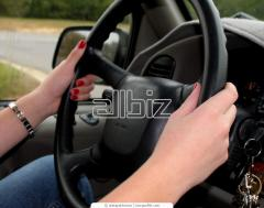 Аренда, прокат автомобилей с водителем
