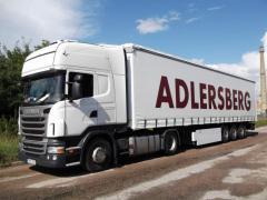 Международная автоперевозка сборных грузов