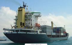 Перевозка грузов в морских контейнерах